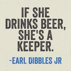 Especially Craft Beer!