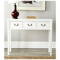 10 White Console Tables For the Hallways
