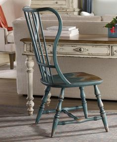 Spindle Desk Chair Blue Find This Pin And More On Cottage Style Home Office Furniture