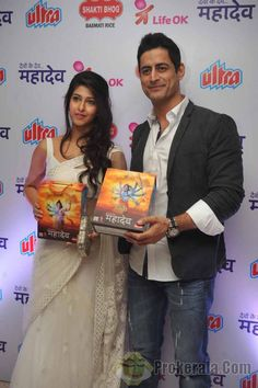 Sonarika Bhadoria and Mohit Raina
