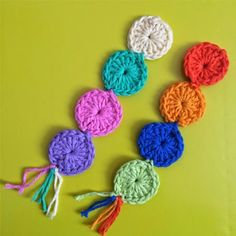 Crochet+For+Children:+Crochet:+Free+Circle+Bookmark+Pattern