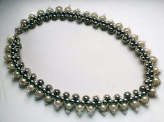 Free pattern for necklace Prima | Beads Magic