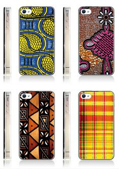 Smartphones et Imprimés Afros ByKL ~ Afro Mango & Cie African Inspired Fashion, African Print Fashion, Africa Fashion, African Interior Design, African Design, African Art, African Accessories, African Jewelry, Moda Afro