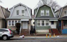 Houses in Woodhaven, Queens.