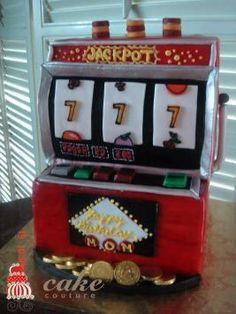 Slot machine cake idea