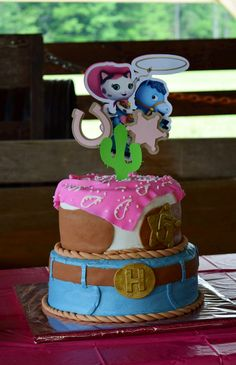 Sheriff Callie Birthday Cake :)