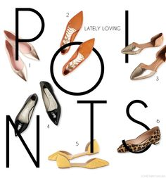 Something Sakura | Pointed Flats