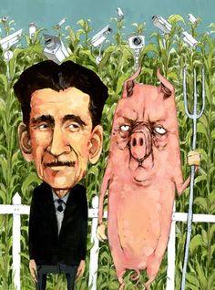George Orwell  by NIKI MARO  La Fattoria degli animali