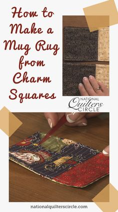 If you are looking for a nice gift idea, this is the project for you. Kelly Hanson shows us how to make a mug rug that are perfect for holding coffee or tea without making a mess. This gift is easy to make and is perfect for friends or family this holiday season. Choose some fun fabric, and start working on those holiday gifts with this quilting tutorial! Beginner Quilting, Quilting For Beginners, Quilting Tutorials, Hand Quilting, Machine Quilting, Small Quilt Projects, Quilting Projects, Quilting Designs, Christmas Mug Rugs