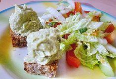 Бутербродная паста из авокадо