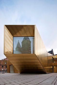 Domkyrkoforum Lund | Kasper Dudzik Lund, Raising, Opera House, Brass, Exterior, Studio, Architecture, Building, Design