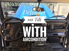 Defender 110 (300Tdi) with Aircondition