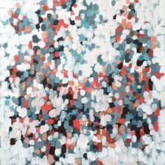 Garden 10, 24×24 on gallery wrap