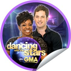 DWTS on GMA on April 25! Sticker | GetGlue