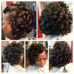 64 ideas for hairstyles black women weave curly bob 64 ideas for hairstyles bl Little Girl Hairstyles Black Black bob curly Hairstyles Ideas weave women Curly Bob Hairstyles, Short Curly Hair, Weave Hairstyles, Girl Hairstyles, Relaxed Hairstyles, Bob Haircuts, Medium Hair Styles, Natural Hair Styles, Short Hair Styles
