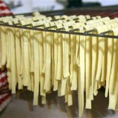 Plain Pasta Recipe    One day, when i have the time and the kitchen to make my own pasta, i will...
