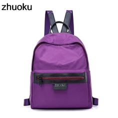 29f5760afdcf Fashion Backpacks For Teenage Girls Women Backpacks Waterproof Nylon  Backpack Women s Backpack Female Casual Travel School