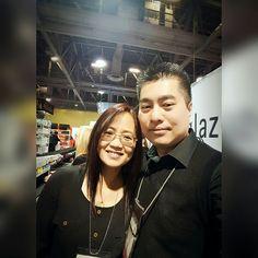 With Karen Vuong at the 2017 ISSE Long Beach, 01/2017.