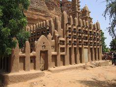 Mud brick church, Mali