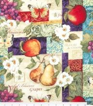 Beautiful blooms garden patch #fabric from @Susan Winget