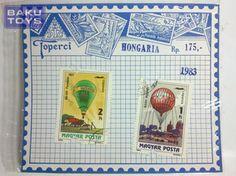 Perangko Hungary 1983 Balloons