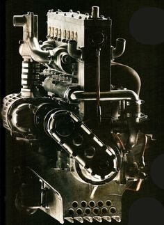 Bugatti Type 35 Engine