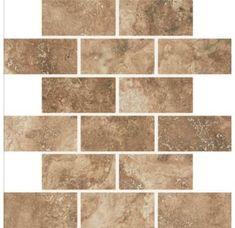 "View the Daltile EV24BJMSP Esta Villa - 4"" x 2"" Brick Joint Mosaic Multi-Surface Tile - Unpolished Stone Visual - Sold by 12.875"" x 11.875"" Sheets (1.06 SF/Sheet) at Build.com."