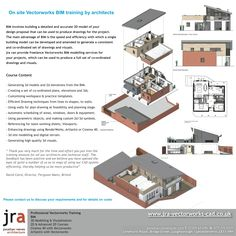 jra Vectorworks Training provides professional CAD training courses in Vectorworks, Cinema 4D, SketchUp, Artlantis and 3D Building Information Modelling (BIM).