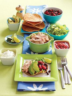 5 Family-Friendly Supper Salads: Roasted Chicken Salad Tostada