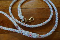 This white twisted line with pink and gold tracers is all kinds of dreamy  #marinerlines #madeinmaine #mainemade #dogleash #leash #dogsofinstagram #rope #nautical #rustic #pink #gold #white #brass #shoplocal #shopsmall #handmade #nauticallife #coastalliving #portland #maine #dreamy #swoon #sail by marinerlines