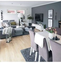 Best Modern Living Room for Your Home. We have put together all of our favourite modern living room design ideas and inspirations for the season so you can be inspired to get the perfect look. All the modern living room design ideas you'll need. Living Room Grey, Formal Living Rooms, Interior Design Living Room, Living Room Furniture, Living Room Designs, Living Room Decor, Modern Living, Dark Furniture, Modern Furniture