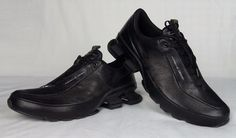 100% Authentic PORSCHE DESIGN BOUNCE S4 II Leather Running Sneakers 9 / 42 NEW   #PorscheDesignAdidas #AthleticSneakersBounceS4II