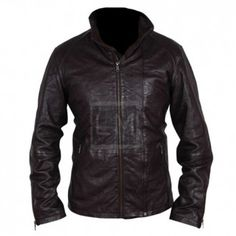 Mission Impossible 5 Tom Cruise Wrinkle Leather Jacket