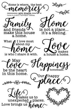 Document your family life with the Home Is Clear Acrylic Stamp Set from the Memory Keepers Studio. There are 13 acrylic stamps by Technique Tuesday included in Wood Burning Crafts, Wood Burning Art, Wood Crafts, Vasos Vintage, Etiquette Vintage, Creation Deco, Cricut Creations, Clear Stamps, Cricut Design