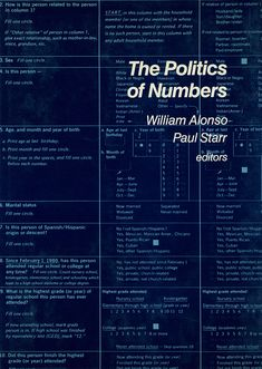 The Politics of Numbers | RSF