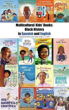 Important Children's Books about Black History in Spanish and English - Bilingual Balance