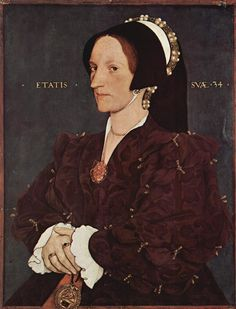 Lady Margaret Lee, circa 1540, Lady in Waiting to Queen Anne Boleyn. Lady Margaret Wyatt, the sister of Thomas Wyatt the poet. She married Sir Anthony Lee of Quarrendon and thus became Lady Lee. The Wyatts were neighbours of the Boleyn family and Anne and Margaret were childhood friends.