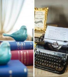 Objetos decorativos vintage - Casamento vintage - Foto Claudia Ruiz