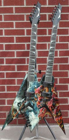 Dave Mustaine Diadem Dean guitar. 75 made.