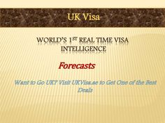 Everybody across the globe must require a visa to travel in the any country. That's why every vacationer to UK should have to acquire his UK visa before entering the country.   The UKVisa.Ae is one of the most exclusive UK visa suppliers which gives you distinctive types of UK visa. Your entire visa creation process generally depends on the country that you belong. The Visa Exempt countries do not require to call for their UK visa and 28 nations of European Union residents do not need an…