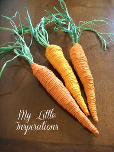 Twine Easter Carrots - My Little Inspirations