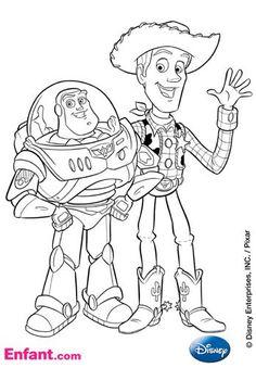 Coloriage Garcon Disney.69 Meilleures Images Du Tableau Coloriage Toy Story Coloring Pages