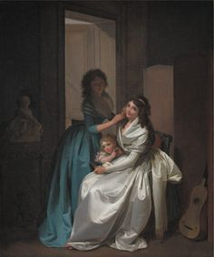 Louis-Léopold Boilly   French,  The Present,  TECHNIQUE Oil on canvas REFERENCE KMS1725