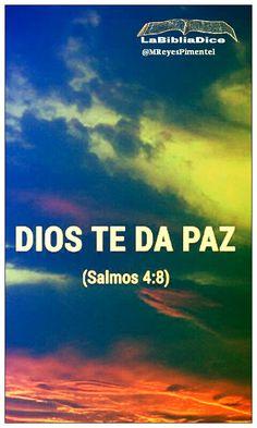 LaBibliaDice: Salmo 4 : 8 Shalom!