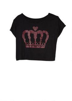 Crown Jewels Tee - Graphic Tees - Sale - dELiA*s