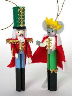 Nutcracker and Mouse King DIY Kit by Fantastic Toys, via Flickr
