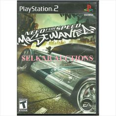 Need For Speed: Most Wanted Play Station 2 Video Game disc PS2 NTSC U/C Used