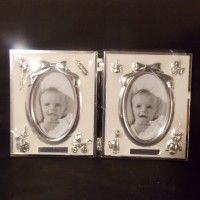 For Sales at www.online-carboot.co.uk the free selling and buying site - B.N.I.B. DOUBLE CHRISTENING PICTURE FRAME. - READING - BERKSHIRE - Cameras & Photography - Show Ad | Online Car Boot Sale UK