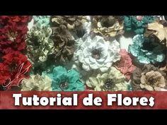 Como fazer | Flor enrugadinha de papel Rosi | Tutorial | PAP - YouTube