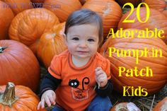 20 Adorable Pumpkin Patch Kids We Couldn't Resist Putting On Display!